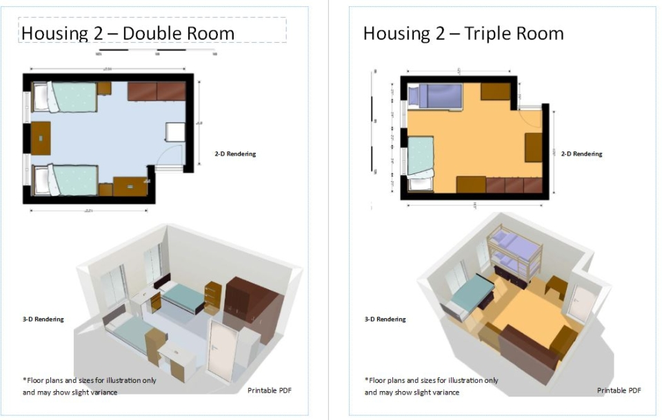 Housing 2 Floor Plan