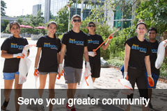 Serve your greater community