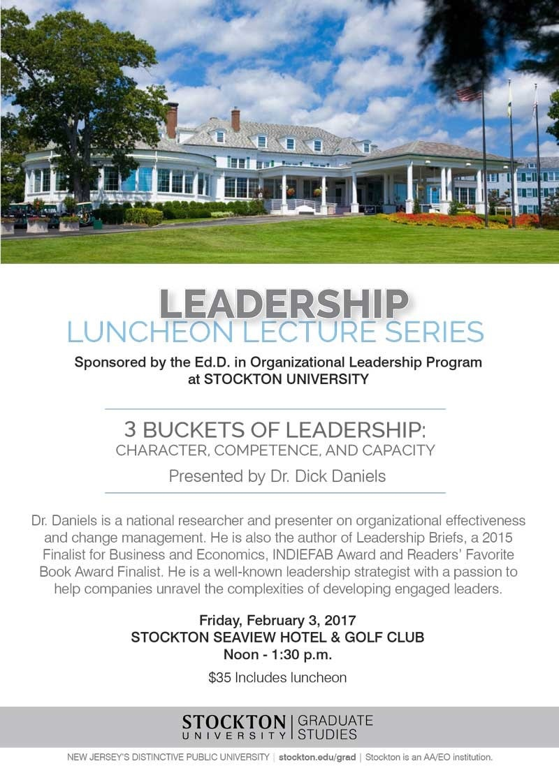 Leadership Luncheon Lecture Series