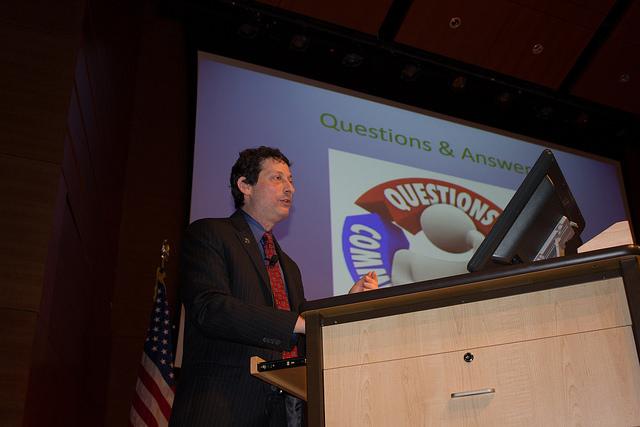 Brian Levin speaking